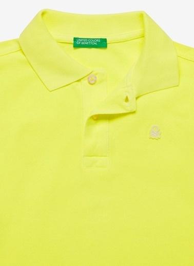 Benetton Tişört Sarı